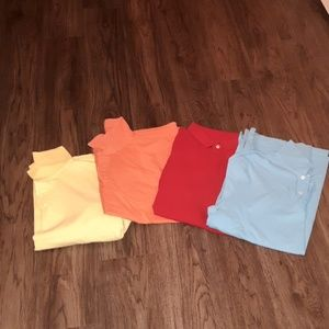 Lot of 4 Sonoma Sz Large Polo Shirts